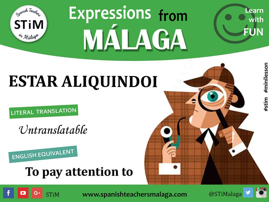 Expresiones de Málaga